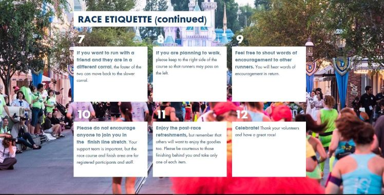 2016 DL Event Guide Race Etiquette Cont