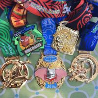 ALL of the 2016 Disneyland Half Marathon Weekend Medals Revealed!