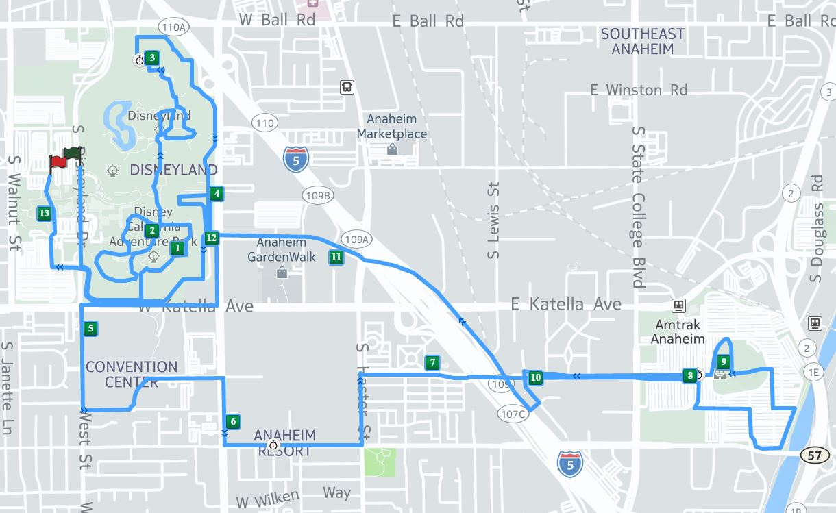 Getting To Know The Avengers Super Heroes Half Marathon Course - Chicago marathon map 2016