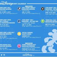 Run Disney 2017 - 2018 Race Calendar Has Been Released with Early Registration Dates