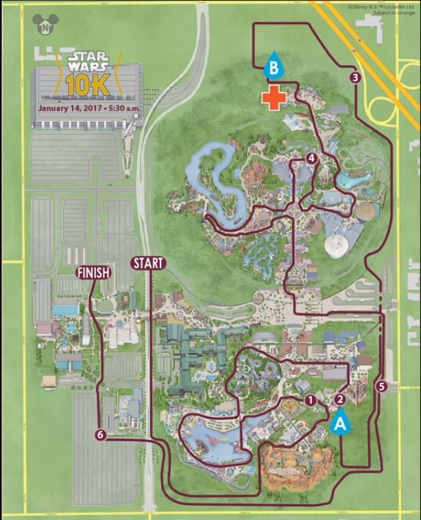 2017-star-wars-half-marathon-guide-10k-map