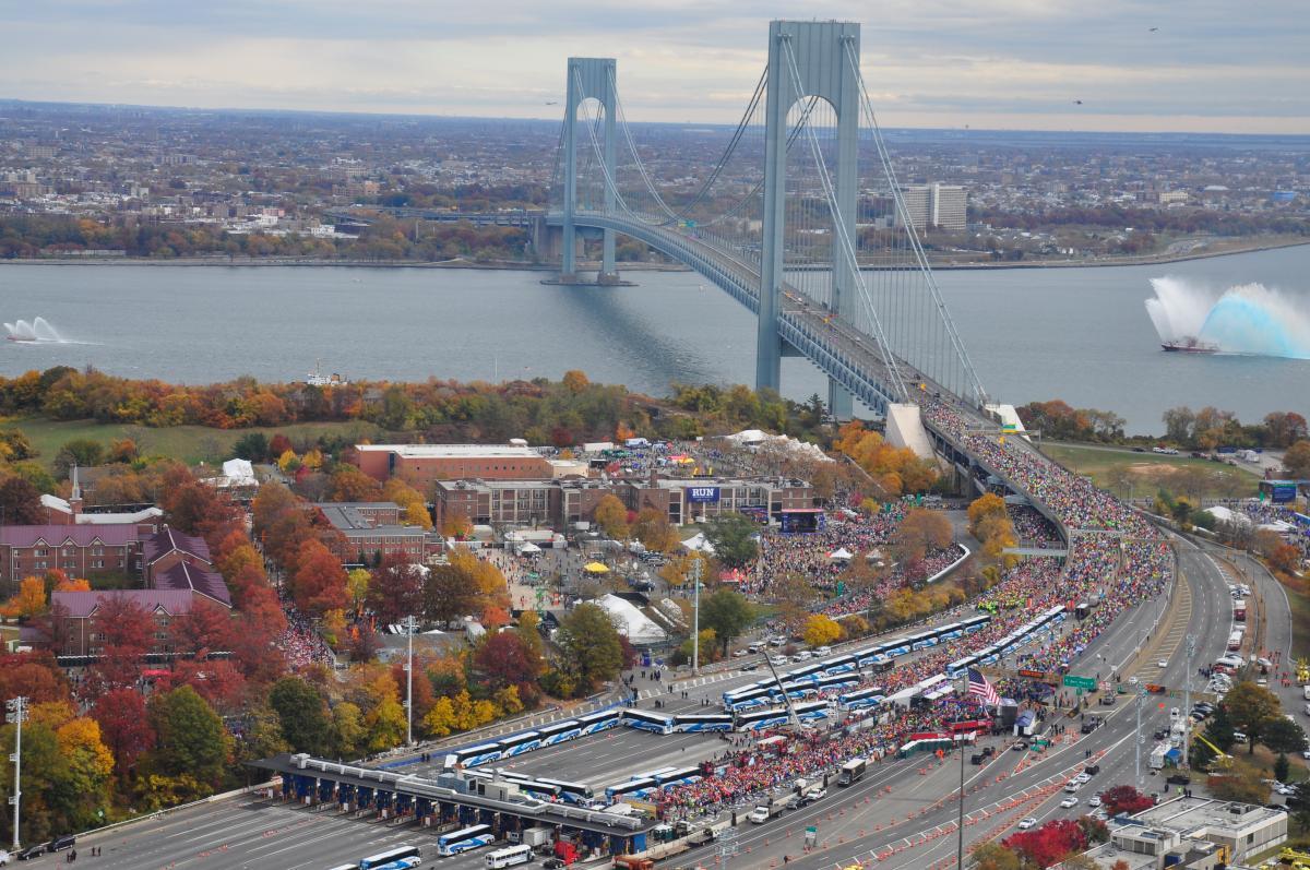 Staten Island Bridge Closed Marathon