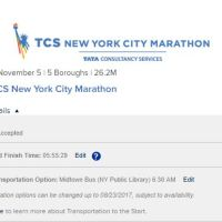 NYC Marathon Transportation and Baggage Options are Set!