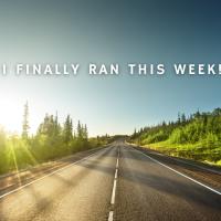 I Finally Got A Run In this Week!